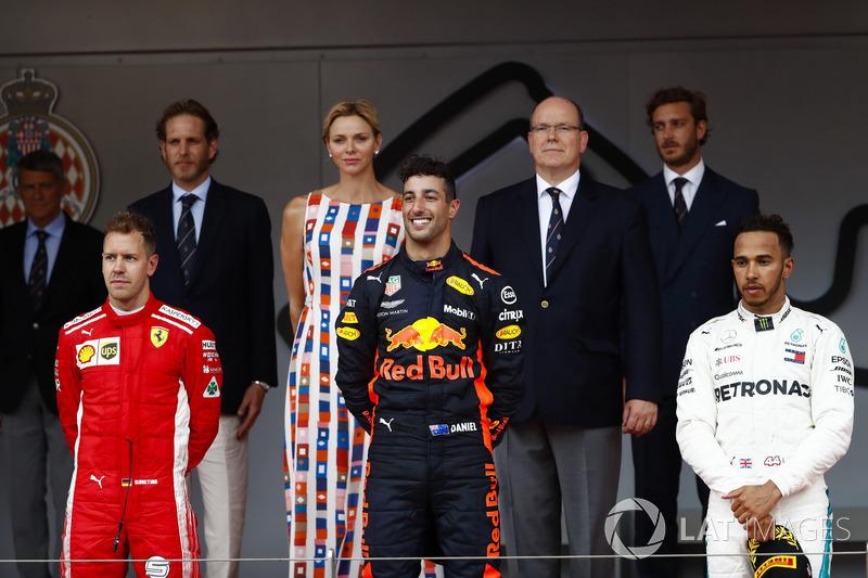 GP de Monaco - Podium