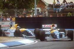 Alain Prost, Williams FW15C, Damon Hill, Williams FW15C