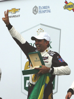 Victory lane, #5 Action Express Racing Cadillac DPi: Christian Fittipaldi