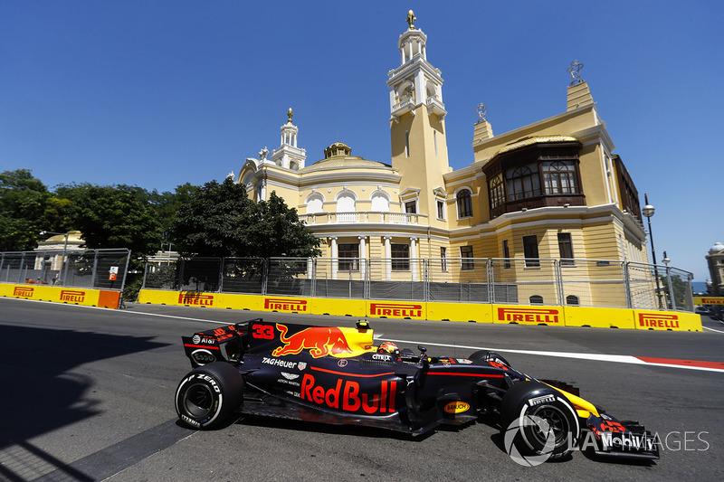 6º Max Verstappen, Red Bull Racing RB13 (45 puntos)