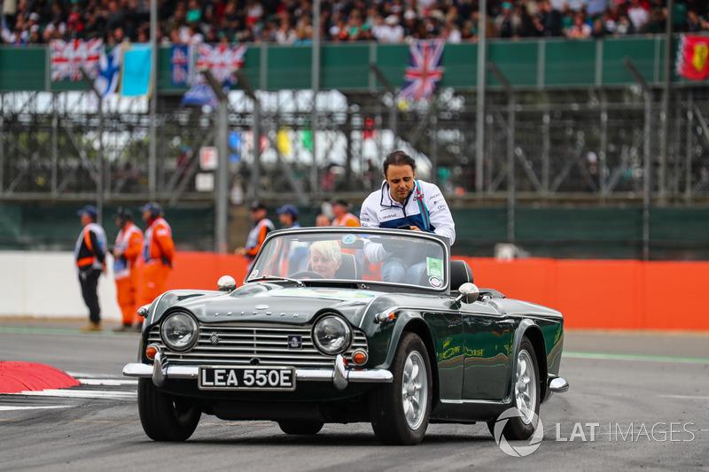 Felipe Massa, Williams en el desfile de pilotos