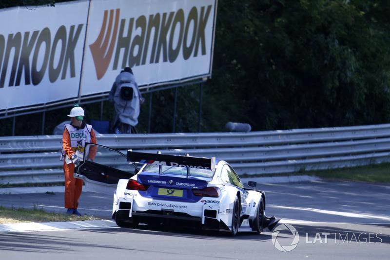 Ausfall: Maxime Martin, BMW Team RBM, BMW M4 DTM