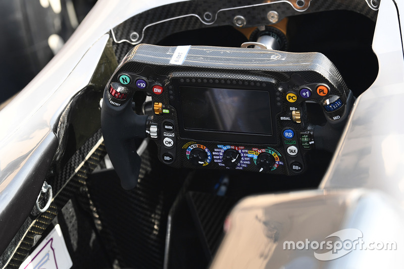 Mercedes-Benz F1 W08 Hybrid steering wheel