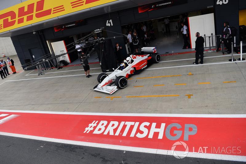 David Saelens, Jonathan Noble, F1-Doppelsitzer