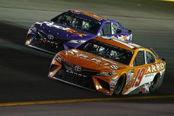 Daniel Suárez, Joe Gibbs Racing Toyota, Denny Hamlin, Joe Gibbs Racing Toyota