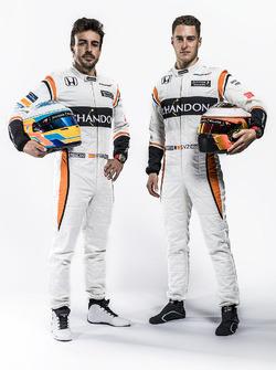 Fernando Alonso und Stoffel Vandoorne, McLaren