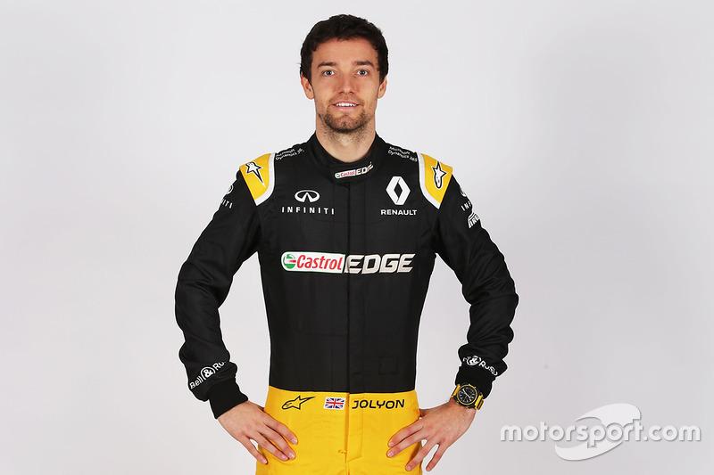 Джолион Палмер, Renault Sport F1 (2017)