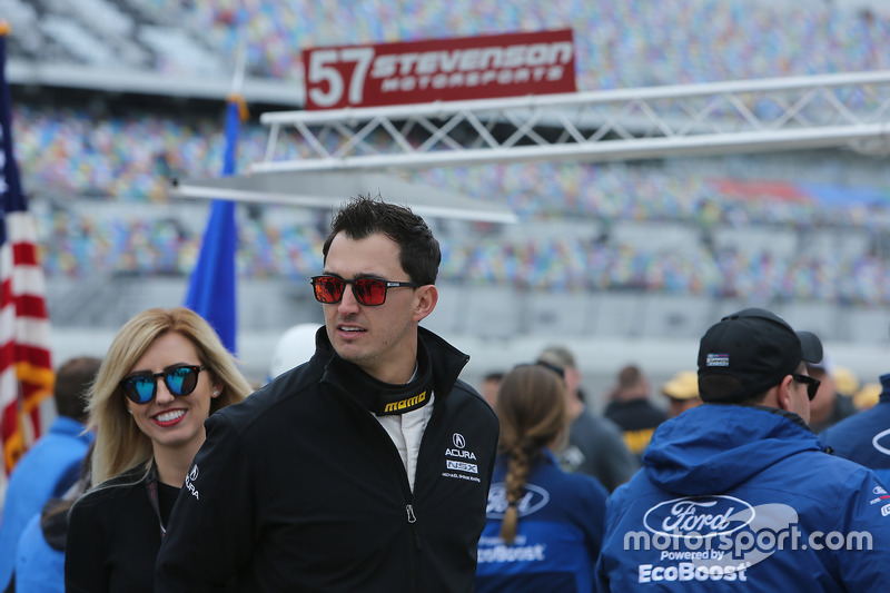Graham Rahal, Michael Shank Racing con Courtney Force