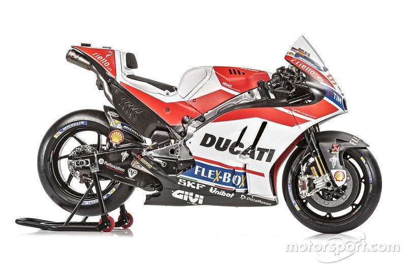 Ducati Desmosedici 2017 del equipo oficial de fábrica