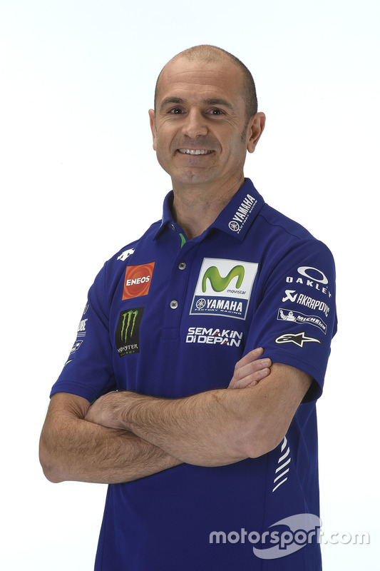 Massimo Meregalli, director del equipo Yamaha Factory Racing