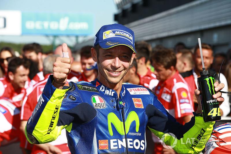 Terceiro lugar Valentino Rossi, Yamaha Factory Racing