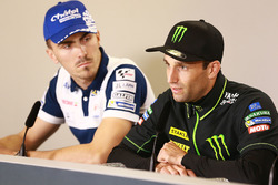 Loris Baz, Avintia Racing; Johann Zarco, Monster Yamaha Tech 3