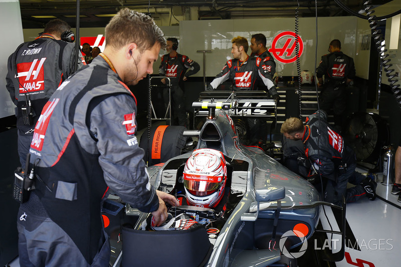 Kevin Magnussen, Haas F1 Team VF-1
