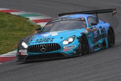 #25 HTP Motorsport, Mercedes AMG GT3: Wim de Pundert, Bernd Schneider, Brice Bosi