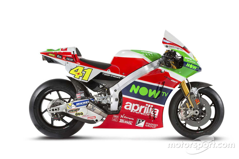 Aprilia RS-GP 2017 del equipo Aprilia Racing Team Gresini
