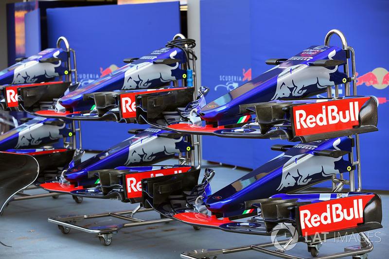 Scuderia Toro Rosso STR12: Frontpartie