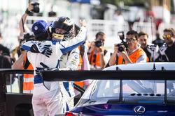 GT Open 2017, Estoril Race, Philipp Frommenwiler und Albert Costa, Lexus RC F GT3, Emil Frey LexusRacing