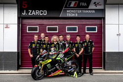 Johann Zarco, Monster Yamaha Tech 3 met het team
