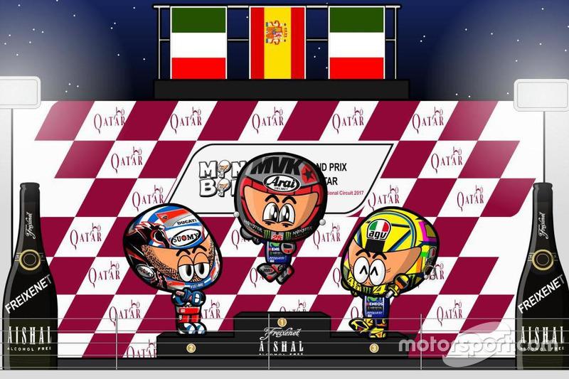 El GP de Qatar de MotoGP según MiniBikers
