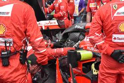 Kimi Raikkonen, Ferrari SF70H engine