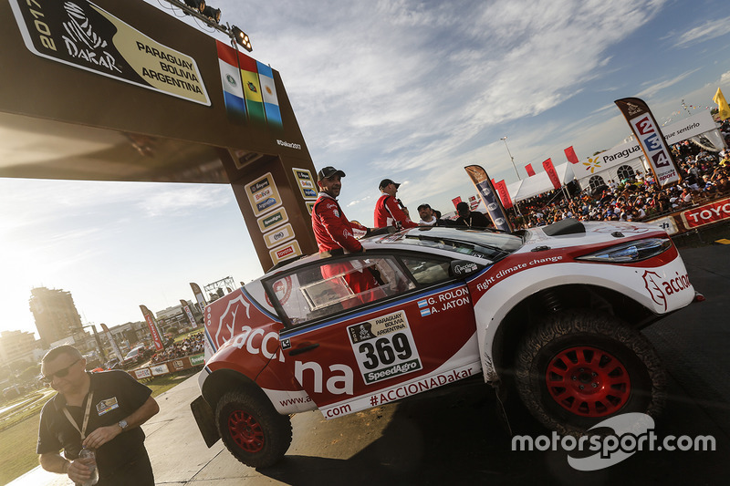 #369 Acciona Dakar: Ariel Jaton, German Rolon