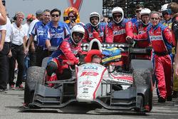 Race winner Sébastien Bourdais, Dale Coyne Racing Honda