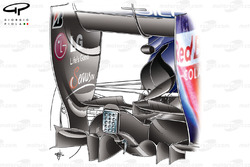 Red Bull RB6 rear end detail