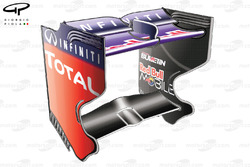 Red Bull RB9 rear wing, Japanese GP