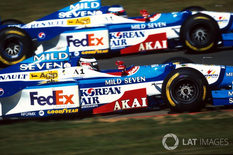 Герхард Бергер і Жан Алезі, Benetton Renault