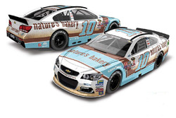 Danica Patrick, Stewart-Haas Racing Chevrolet throwback scheme