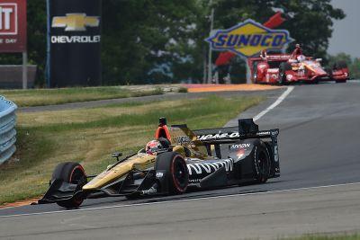 IndyCar-Test in Watkins Glen, Juni