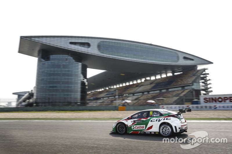 #6: Tiago Monteiro, Honda Racing Team JAS, Honda Civic WTCC