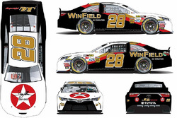 Throwback-Design von Dakoda Armstrong, JGL Racing, Toyota