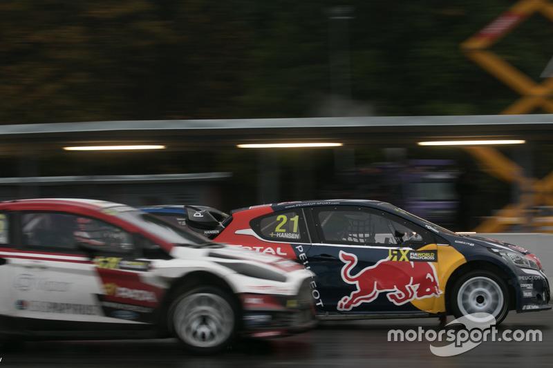 Тимми Хансен, Peugeot