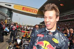 Даниил Квят, Red Bull Racing на стартовой решетке