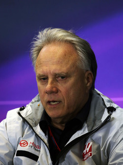 Gene Haas, Haas Automotion President in the Press Conference
