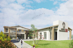 Centro per disabili Santa Marta, rendering