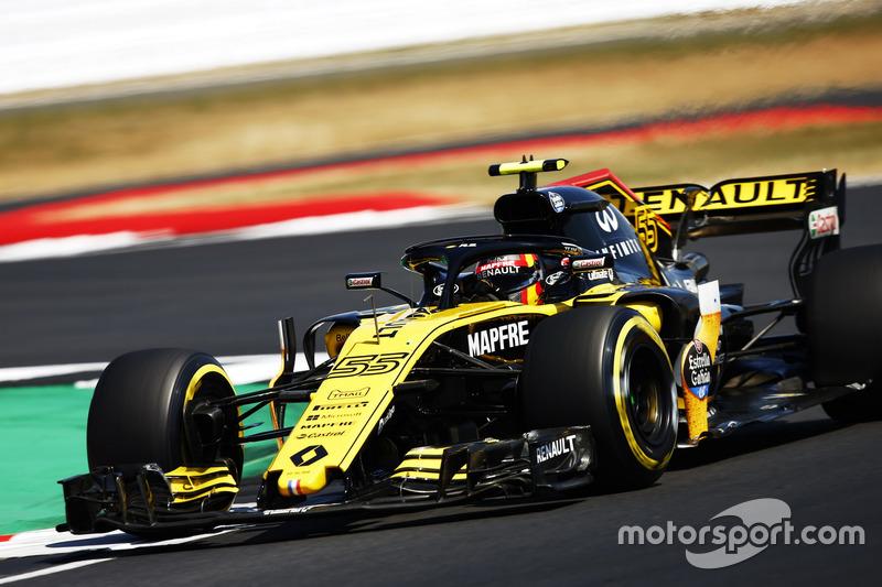 DNF: Carlos Sainz Jr., Renault Sport F1 Team R.S. 18