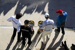Toto Wolff, Mercedes AMG F1, Valtteri Bottas, Mercedes AMG F1 Lewis Hamilton, Mercedes AMG F1, Niki Lauda, Mercedes AMG F1, celebran