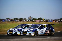 Ash Sutton, Team BMR Subaru Levorg and Jason Plato, Team BMR Subaru Levorg