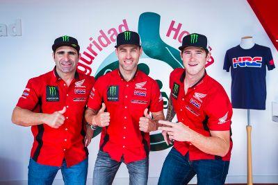 Presentazione del Team Honda