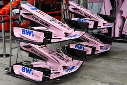 Force India VJM10: Nasen und Frontflügel
