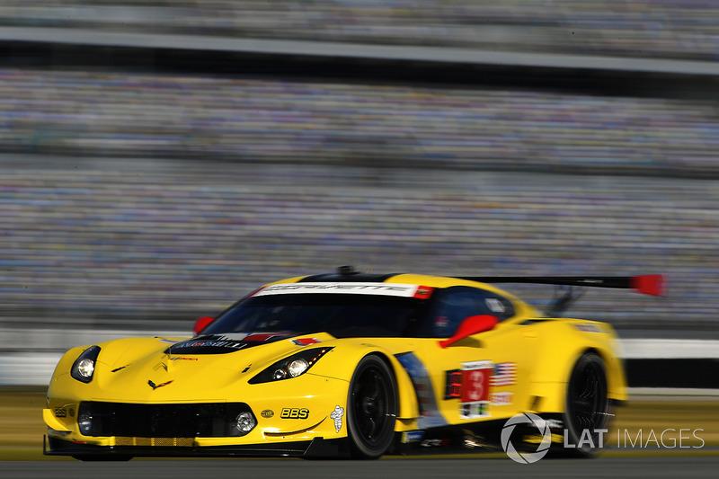 #3 Corvette Racing Chevrolet Corvette C7.R, GTLM: Антоніо Гарсія, Ян Магнуссен, Майк Роккенфеллер