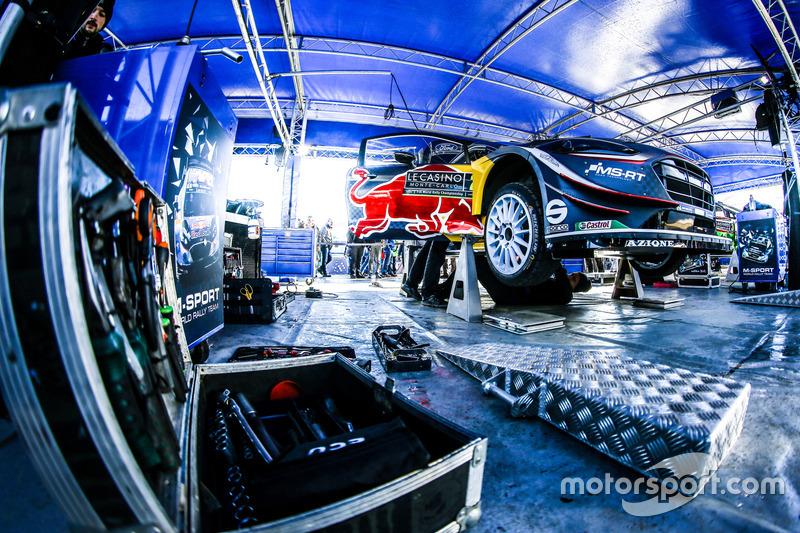 M-Sport Ford takım alanı