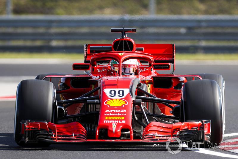 Антоніо Джовінацці, Ferrari SF71H