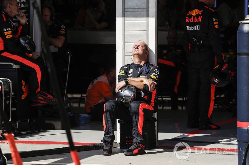 Механик Red Bull Racing