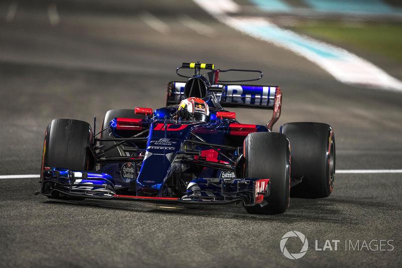 16. Pierre Gasly, Scuderia Toro Rosso STR12