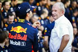 Daniel Ricciardo, Red Bull Racing, Helmut Markko, Consultor, Red Bull Racing