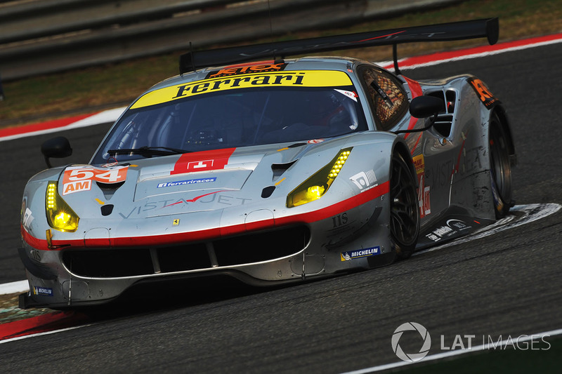 3. GTE-Am: #54 Spirit of Race Ferrari 488 GTE