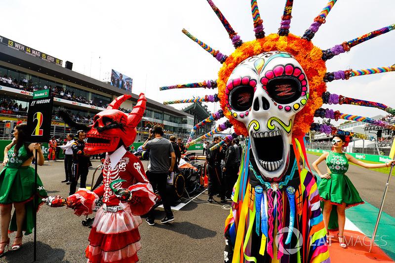 Gran Premio de México: el día de muertos en la pista